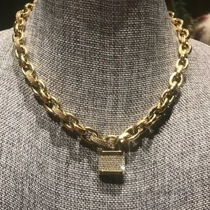 MICHAEL KORS necklace and matching bracelet